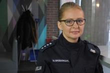Marzena Grzegorczyk - sukcesy policji to efekt pracy wielu anonimowych funkcjonariuszy