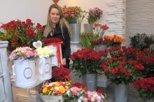 Róża - symbol miłości - najczęściej kupowanym kwiatem na Walentynki