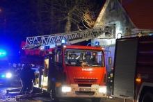 Pożar domu jednorodzinnego w Pępicach