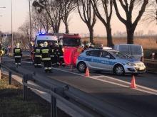 34-latek zginął w wypadku w Reńskiej Wsi