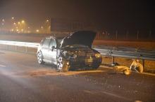 Cztery pojazdy zderzyły się w nocy na A4