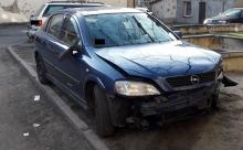 Pijany kierowca wjechał na chodnik i potrącił kobietę