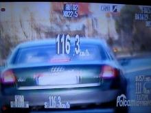 Pędził 116 km/h, stracił prawo jazdy