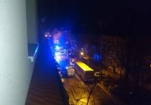 Nocny pożar BMW w Opolu