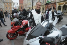 Motocyklowe Jajeczko na opolskim rynku za nami