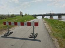 Zalana ulica Bolkowska, stany alarmowe na opolskich rzekach