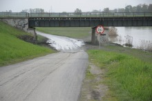 Drogi zalane w weekend w Opolu są już przejezdne
