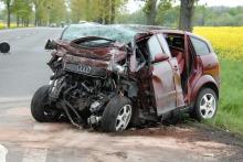 5 osób w szpitalu po wypadku pod Brzegiem