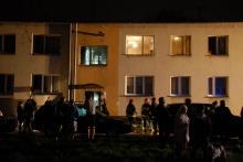 Nocny pożar przy ul. Podhalańskiej. Ewakuowano blisko 30 osób.