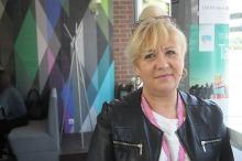 Jolanta Gocka - podczas targów