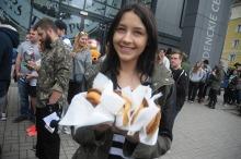Studenci wspólnie zjedli Wielkie Śniadanie na kampusie UO