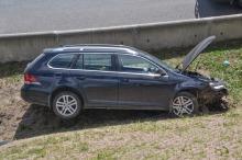 Zaśnięcie 52-latka przyczyną wypadku na autostradzie A4