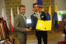Jakub Błaszczykowski odebrał tytuł Honorowego Obywatela Miasta Opola