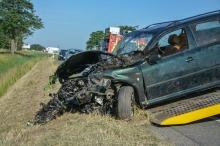 Trzy osoby w szpitalu po porannym wypadku na obwodnicy