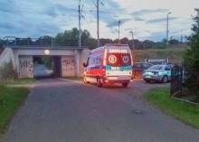 Tragedia w Lipkach. Śmierć mężczyzny na stacji