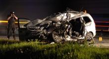 Śmiertelny wypadek na autostradzie A4. Nie żyje kobieta