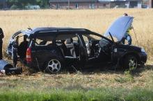 Tragiczny wypadek w Borkach Małych. Dwie osoby nie żyją
