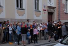 Opolanie ponownie protestowali przeciwko reformie sądownictwa