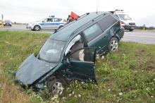 Pięć osób rannych w wypadku na obwodnicy Grodkowa
