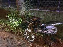 Motocyklista poważnie ranny. Wypadek w Smardach koło Kluczborka