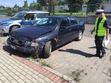 Wypadek koło Kauflanda w Opolu. Sprawca w szpitalu