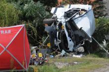 Śmiertelny wypadek w Naroku. Trasa Opole-Skorogoszcz zablokowana