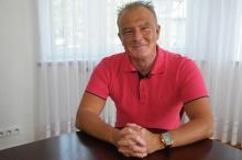 Mec. Andrzej Sieradzki o urlopie - przed wyjazdem, w trakcie i po powrocie