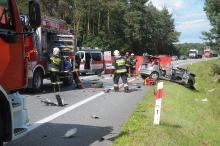 Śmiertelny wypadek pod Opolem. Zablokowana DK 45