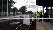 Zwłoki mężczyzny na peronie kolejowym w Strzelcach Opolskich