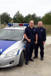 Policjanci uratowali życie 8-miesięcznemu dziecku