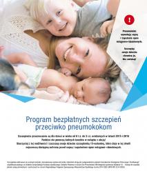 Bezpłatne szczepienia przeciwko pneumokokom dla dzieci  z województwa opolskiego