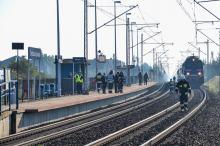 Tragiczne potrącenie przez pociąg
