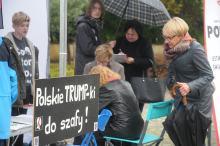 Kobiety wyszły na ulicę w ramach Czarnego Protestu