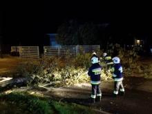 Strażacy interweniowali kilkaset razy podczas wczorajszej wichury