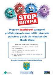 Dziś ruszyła akcja szczepień przeciwko grypie dla osób 65+