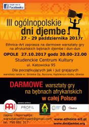 Trzecia edycja Ogólnopolskich Dni Djembe
