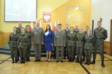Nowi funkcjonariusze Służby Granicznej ślubowali dziś w Opolu