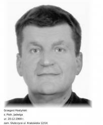 Policjanci poszukują Grzegorza Hostyńskiego
