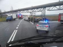 Zimnice Małe: Zderzyły się 3 pojazdy