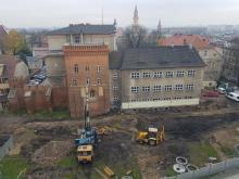 Zamek Górny w Opolu miał być gotowy na obchody 800 lecia, musimy jeszcze poczekać.