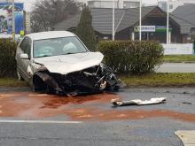Zderzenie czterech  pojazdów na ul. Wrocławskiej