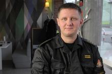 Kpt. Łukasz Olejnik - od początku października już 12 osób zatruło się czadem