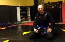 Aspirant z pasją i wynikami w jiu-jitsu