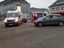 3 osoby ranne po zderzeniu do jakiego doszło rano na Katowickiej