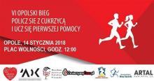 """VI Bieg """"Policz się z cukrzycą i ucz się pierwszej pomocy"""" wystartuje w dniu finału WOŚP"""