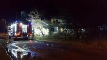 Kolejna śmiertelna ofiara pożarów. Płonął dom w Jankowicach Wielkich
