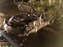 Bierdzany: Nietrzeźwy kierowca skończył w rowie. Doznał wielu obrażeń ciała.