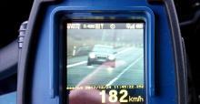 Mieszkaniec Prudnika pędził ponad 180 km/h