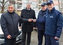 Nowy radiowóz dla kryminalnych z Ozimka