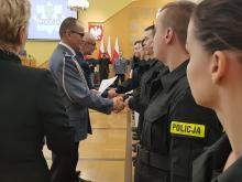 52 nowych funkcjonariuszy zasili opolski garnizon